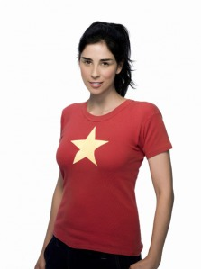 Author, actress, bedwetter: Sarah Silverman