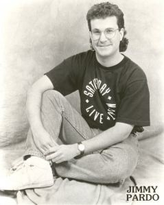 Jimmy Pardo, comedian and model