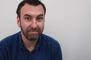 Matt Braunger, lean and mean. More funny than mean, actually.